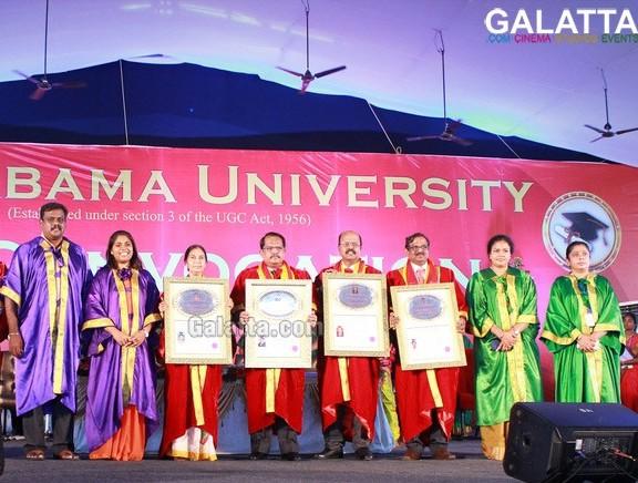 26th Convocation of Sathyabama University