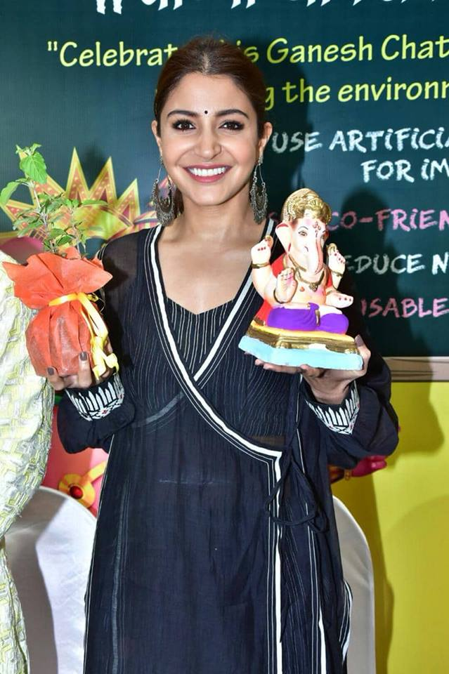 Anushka Sharma and Varun Dhawan Launch Green Ganesh Chaturthi