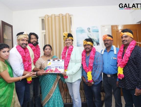 Arun Vijay - Director Magizh Thirumeni's new movie pooja