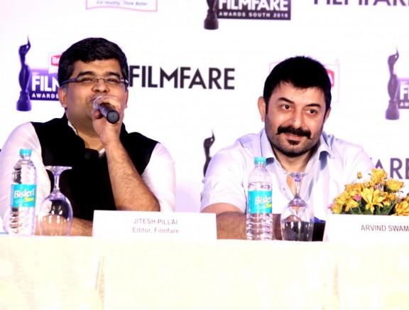 Arvind Swami at Britannia Filmfare Awards Press Meet