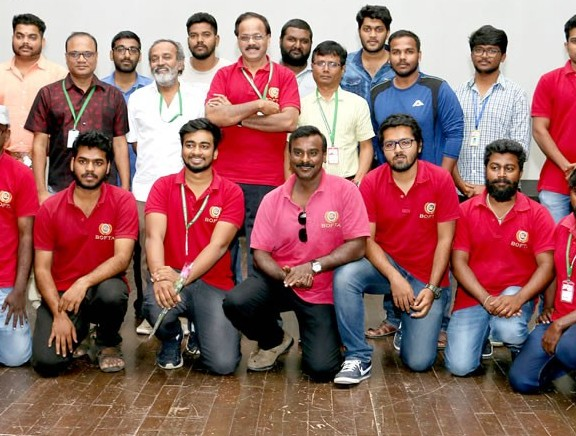 BOFTA Institute students at 14th Chennai International Film Festival