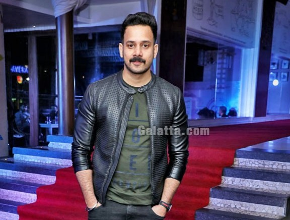 Bharath at Miss O2 and O2 Man event