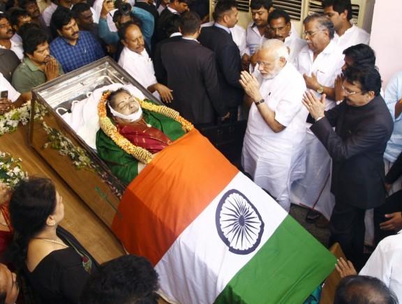 CM Jayalalithaa Last Journey