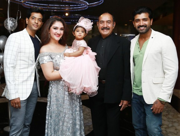 Celebrities at Mrs.Sridevi Vijaykumar - Mr.Rahul's Daughter Rupikaa 1st Year Birthday Celebration