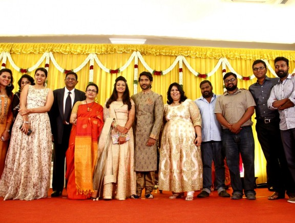 Celebrities at Pandu's Son's Wedding Reception