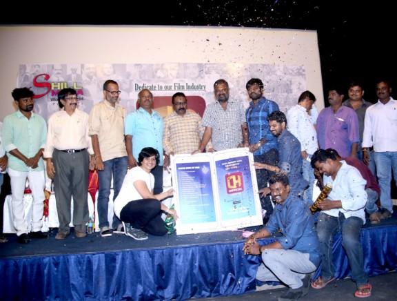 Celebs at CINE HUB's Mobile App launch
