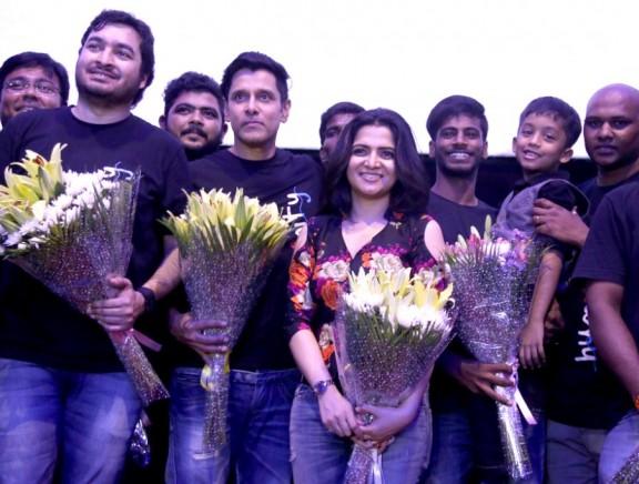 Chiyaan Vikram's 'Spirit Of Chennai' Song launch