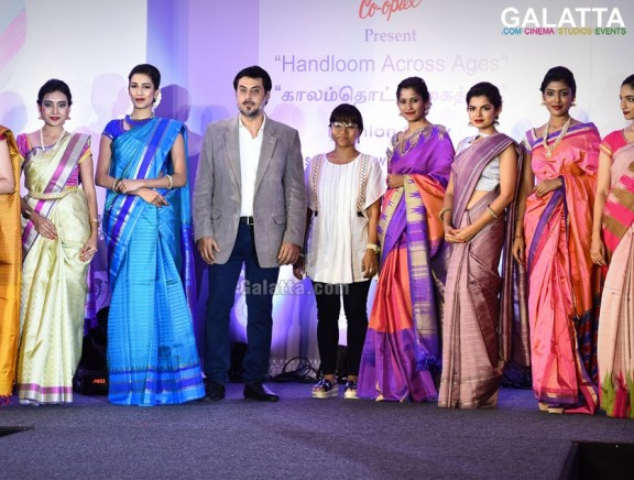 Co-optex presents Handloom Across Ages Fashion Show