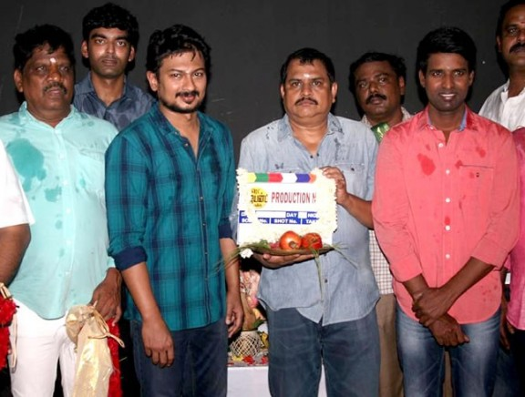 Director Ezhil - Udhayanidhi movie pooja