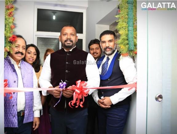 Dr. Sam Paul inaugurates Hair Guru and Frost at Madipakkam