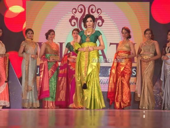 Fashion Show & Networking Night of Gem & Jewellery India International Exhibition