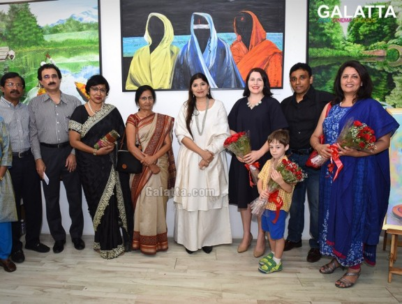India In My Eyes Art Exhibition by Ms Ponni Concessao