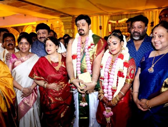 Jayachithra's Son Amresh wedding