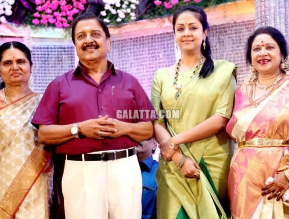 Jayachithra's son Amresh wedding reception