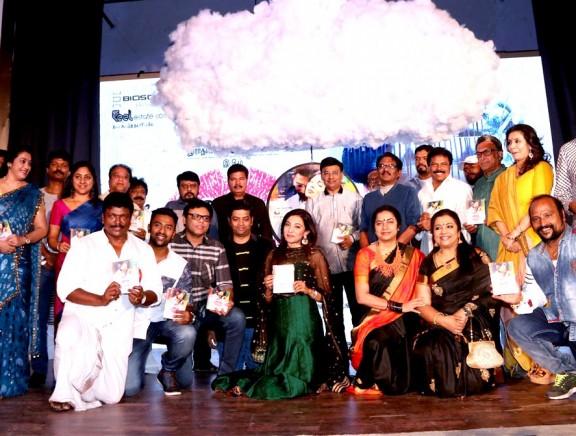 K. Bhagyaraj honoured at Koditta Idangalai Nirappuga audio launch