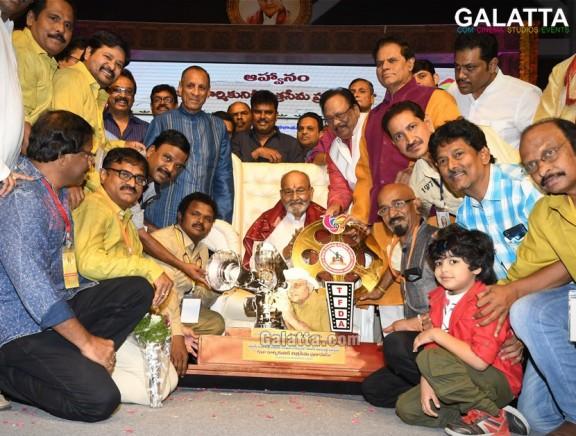 K Viswanath Sanmanam by Telugu Film Darsakula Sangam