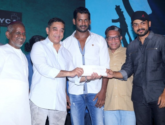 Kamal Haasan's Sabash Naidu Title Launch