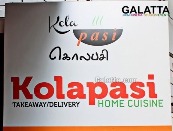 Kolapasi Take Away launch at Anna Nagar