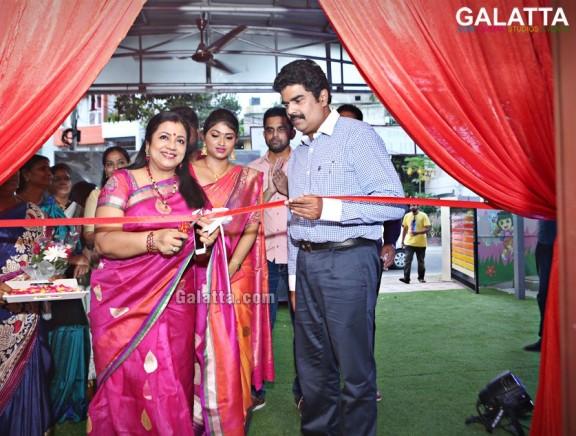 Launch of Cradle 2 Crayonz by Ms. Samira Ummerkutty