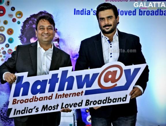 Madhavan as Hathway's brand ambassador launches new 1000GB plan
