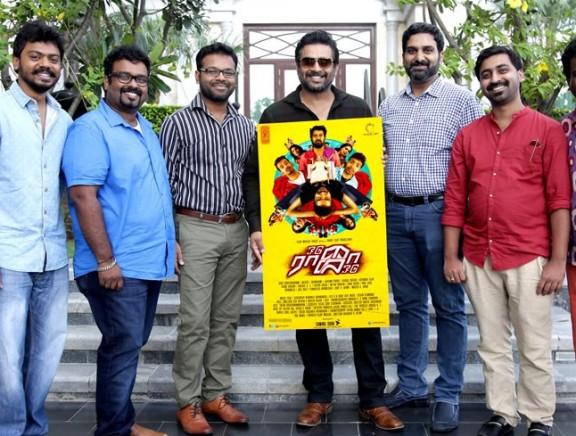 Madhavan launches Odu Raja Odu first look