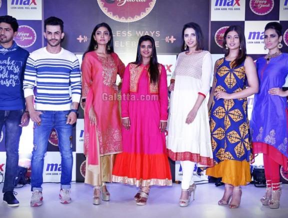 Max Festive collection fashion show