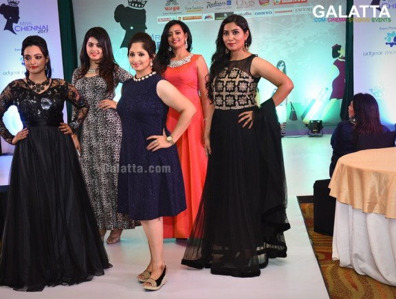 Mrs Chennai 2017 Launch Party and Fashion Show