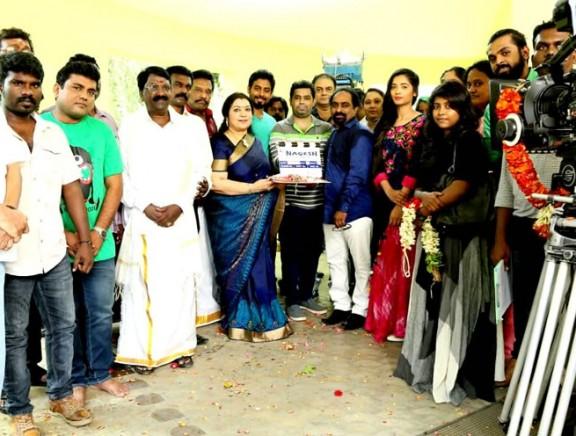 Nagesh Thiraiyarangam movie pooja