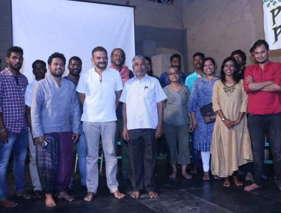 Perumal Murugan launches Chennai Poromboke Paadal by TM Krishna
