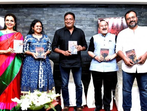Prakash Raj launches 'Death Seeking Immortal' book by Rajeev Balakrishnan