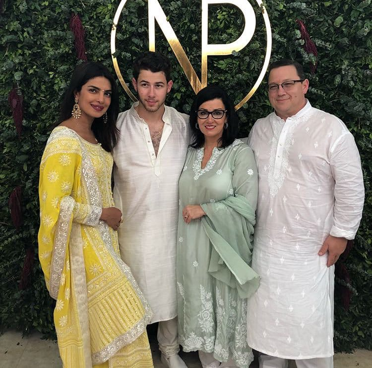 Priyanka Chopra and Nick Jonas Roka Ceremony