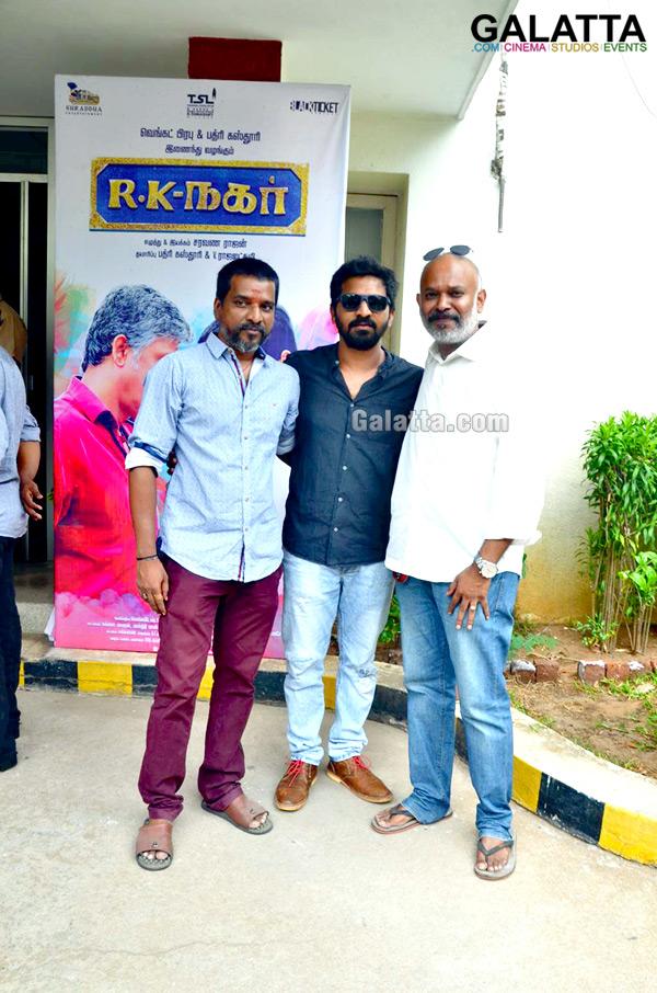 RK Nagar Audio and Trailer Launch Stills