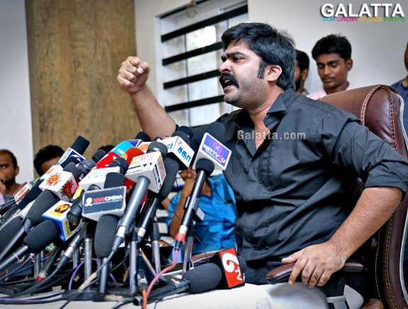 STR urgent press meet for Jallikattu