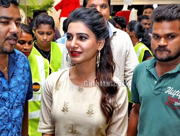 Samantha launches Project Eve store in chennai