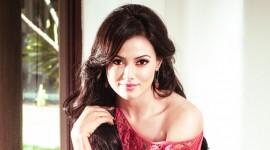 Sanaa Khan Exclusive Photo Shoot for Galatta Cinema August 2012 Issue