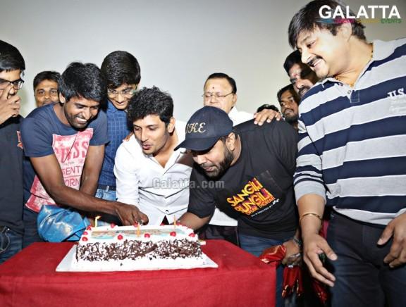 Sangili Bungili Kadhava Thorae Success Celebration at Kamala Cinemas