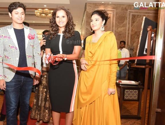 Sania Mirza launches The Label Bazaar exhibition