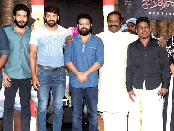 Santhana Devan first look launch