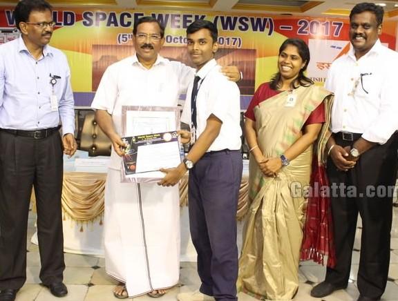 Sathyabama University & ISRO celebrates World Space Week 2017
