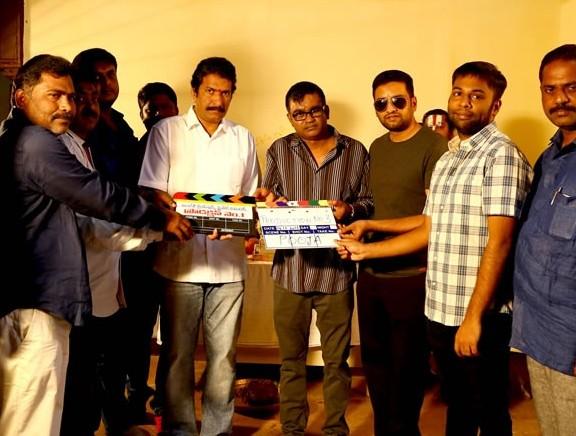 Selvaraghavan - Santhanam's new movie pooja