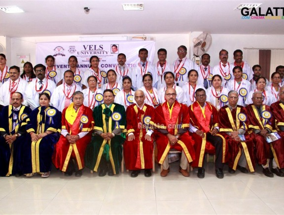 Seventh Annual Convocation of Vels University