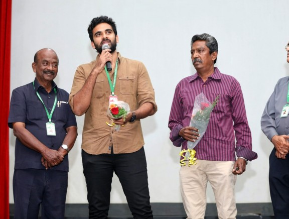 Sila Samayangalil Movie Team at 14th Chennai International Film Festival
