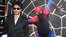 Spiderman Pressmeet with Irfan Khan