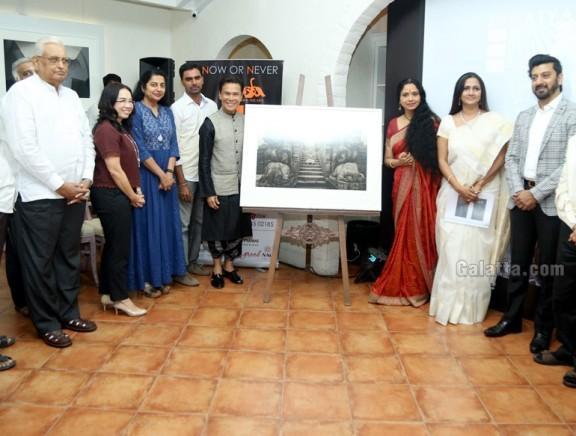 Suhasini Maniratnam and Dancer Ramli Ibrahim launch Natya Darshan 2017 by Krithika Subramanian & Kartik Fine Arts