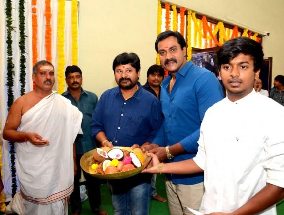 Sunil - N Shankar Movie Pooja