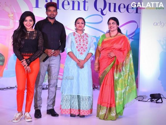 Talent Queen Round of Mrs.Chennai 2017