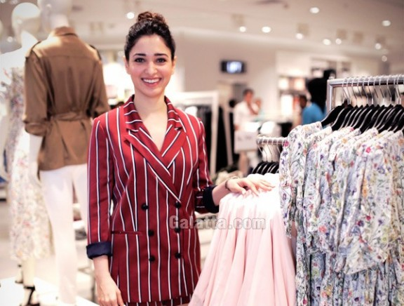 Tamannaah and Rana Daggubati at the VIP party of Hyderabad's first H&M Store