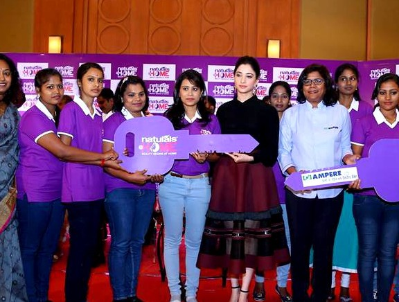 Tamannaah launches Naturals@Home in Coimbatore
