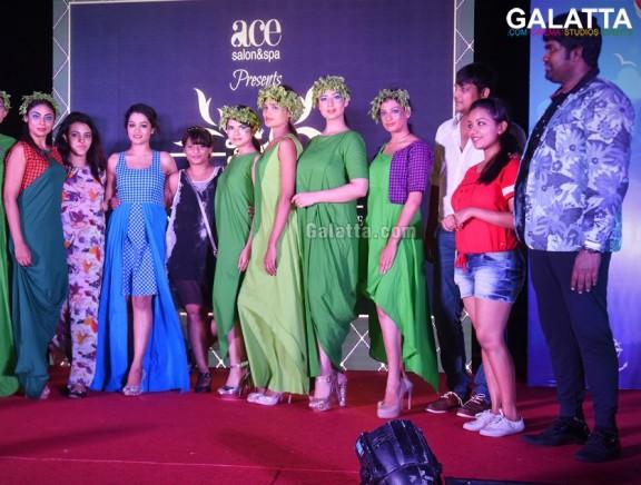 The Beach Affair fashion show