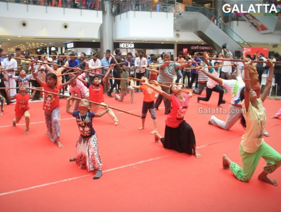 The Forum Vijaya Mall celebrated International Yoga Day by demonstrating Mass Yoga Fest!
